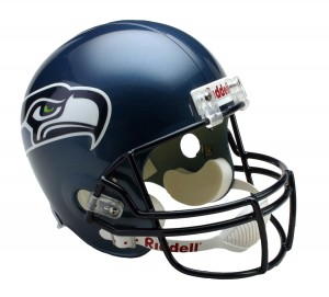 Seattle Seahawks 2002-2011 Throwback Replica Full Size Helmet