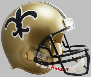 New Orleans Saints 1976-1999 Throwback Replica Full Size Helmet