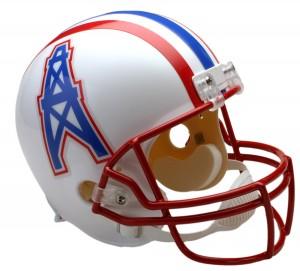 Houston Oilers 1981-1996 Throwback Replica Full Size Helmet