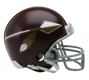 Washington Redskins 1965-1969 Throwback Replica Mini Helmet