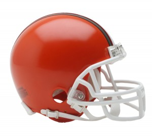 Cleveland Browns 1975-2005 Throwback Replica Mini Helmet