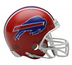 Buffalo Bills 1987-2001 Throwback Replica Mini Helmet