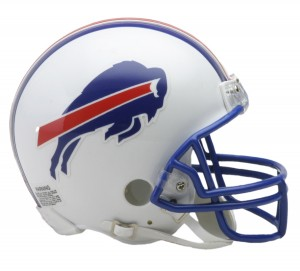 Buffalo Bills 1976-1983 Throwback Replica Mini Helmet