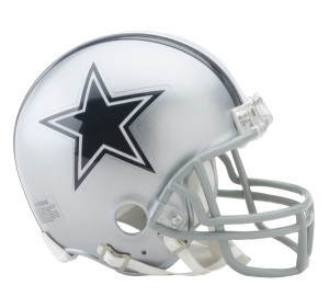 Dallas Cowboys Replica Mini Helmet