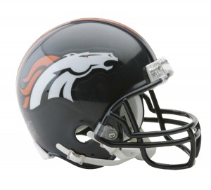 Denver Broncos Replica Mini Helmet