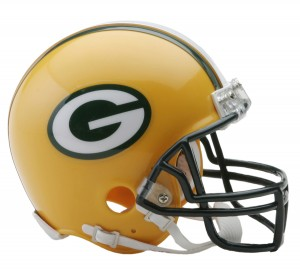 Green Bay Packers Replica Mini Helmet