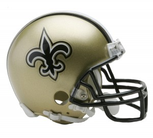 New Orleans Saints Replica Mini Helmet