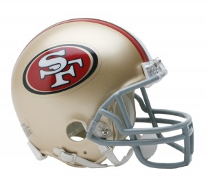San Francisco 49ers Replica Mini Helmet