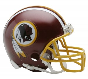 Washington Redskins Replica Mini Helmet