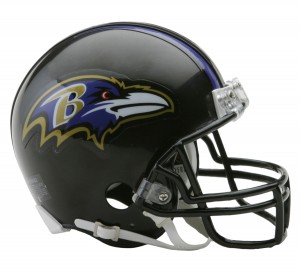 Baltimore Ravens Replica Mini Helmet