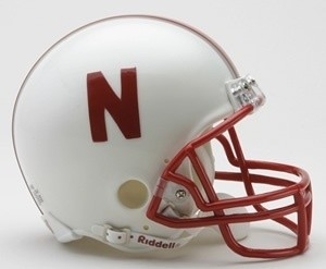 Nebraska Cornhuskers Riddell Mini Vsr4 Helmet