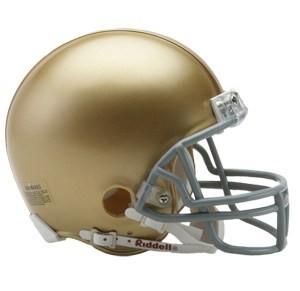 Notre Dame Fighting Irish Riddell Mini Vsr4 Helmet