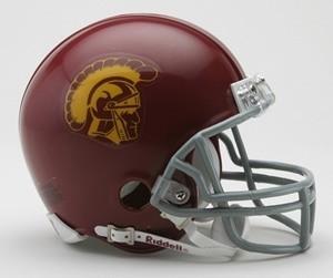 USC Trojans Riddell Mini Vsr4 Helmet