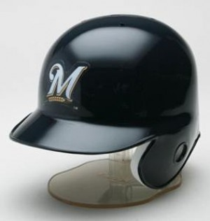 Milwaukee Brewers Replica Mini Batting Helmet