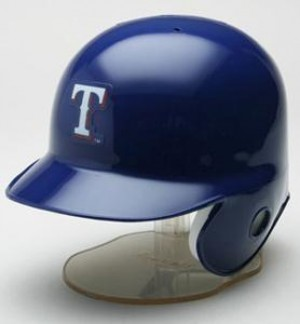 Texas Rangers Replica Mini Batting Helmet