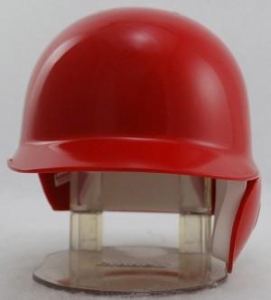 Scarlet Blank Customizable Replica Mini Batting Helmet Shell