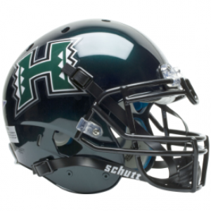 Schutt NCAA Hawaii Warriors XP Authentic Full Size Helmet