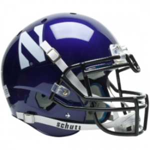 Schutt NCAA Northwestern Wildcats XP Authentic Full Size Helmet