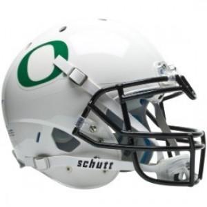 Oregon Ducks White XP Authentic Full Size Helmet