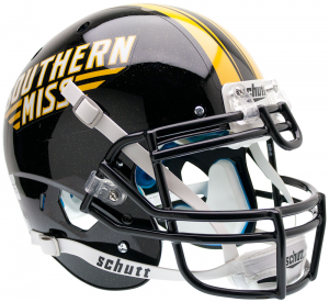 Schutt NCAA Southern Miss Golden Eagles XP Authentic Full Size Helmet