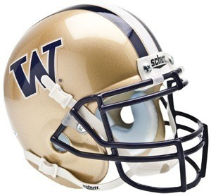 Washington Huskies Authentic Mini Helmet