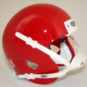 Schutt Scarlet Blank Customizable XP Authentic Mini Football Helmet Shell