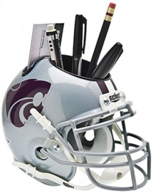 Kansas St Wildcats Authentic Mini Helmet Desk Caddy