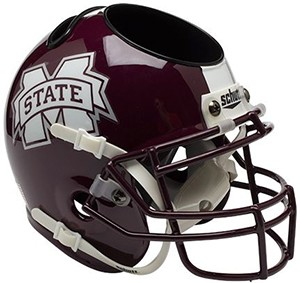 Mississippi St Bulldogs Authentic Mini Helmet Desk Caddy