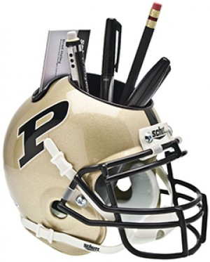Purdue Boilermakers Authentic Mini Helmet Desk Caddy