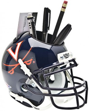 Virginia Cavaliers Authentic Mini Helmet Desk Caddy