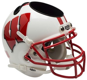 Wisconsin Badgers Authentic Mini Helmet Desk Caddy