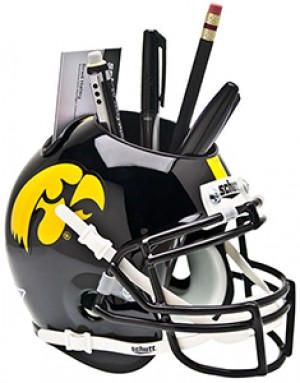 Iowa Hawkeyes Authentic Mini Helmet Desk Caddy