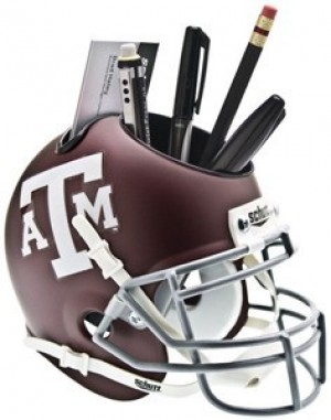 Texas A&M Aggies Authentic Mini Helmet Desk Caddy