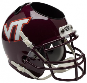 Virginia Tech Hokies Authentic Mini Helmet Desk Caddy