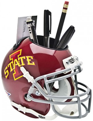 Iowa St Cyclones Authentic Mini Helmet Desk Caddy