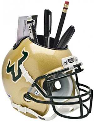 South Florida Bulls Authentic Mini Helmet Desk Caddy