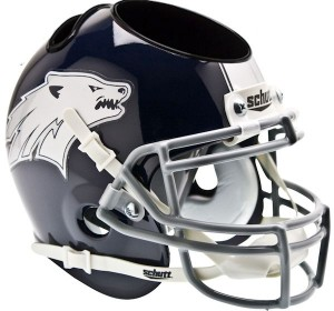 Nevada Wolfpack Authentic Mini Helmet Desk Caddy