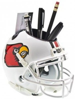 Louisville Cardinals Authentic Mini Helmet Desk Caddy
