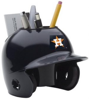 Schutt MLB Houston Astros Authentic Mini Batting Helmet Desk Caddy
