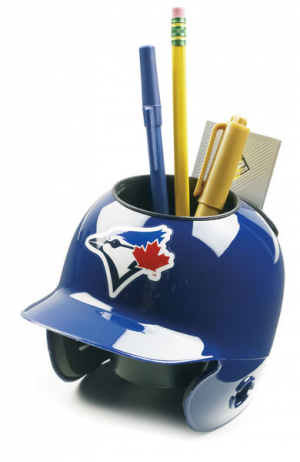 Schutt MLB Toronto Blue Jays Authentic Mini Batting Helmet Desk Caddy