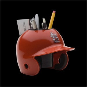 Saint Louis Cardinals Authentic Mini Batting Helmet Desk Caddy