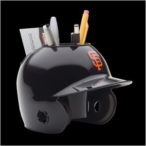 San Francisco Giants Authentic Mini Batting Helmet Desk Caddy
