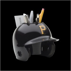 Pittsburgh Pirates Authentic Mini Batting Helmet Desk Caddy