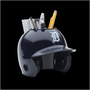 Detroit Tigers Authentic Mini Batting Helmet Desk Caddy