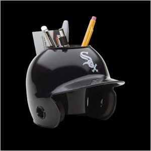 Chicago White Sox Authentic Mini Batting Helmet Desk Caddy