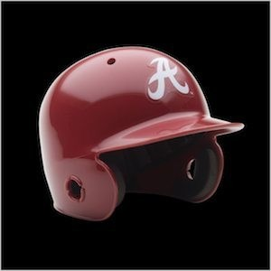 Alabama Crimson Tide Authentic Mini Batting Helmet