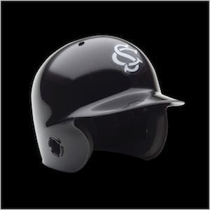 South Carolina Gamecocks Authentic Mini Batting Helmet