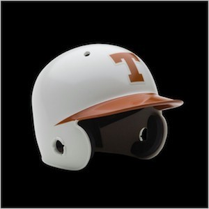 Texas Longhorns Authentic Mini Batting Helmet