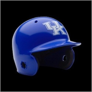 Kentucky Wildcats Authentic Mini Batting Helmet