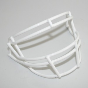 Schutt White Customizable XP Authentic Mini Football Facemask